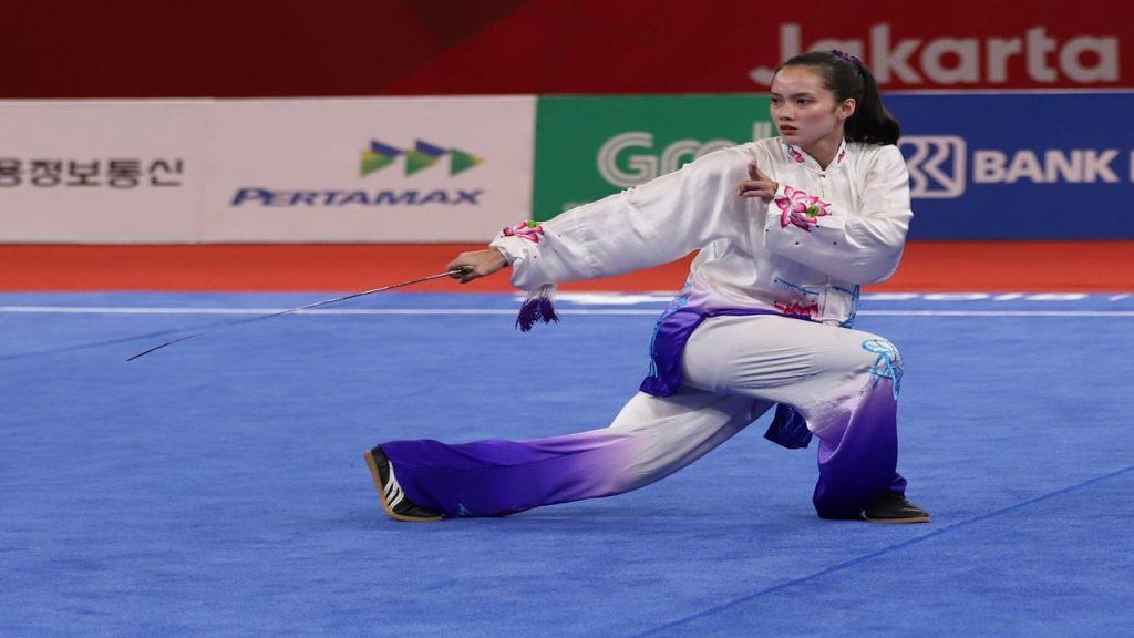 กีฬาวูซู ศิลปะการต่อสู้ของจีน