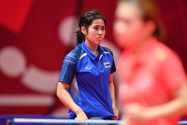 นักกีฬาปิงปองไทย - สุธาสินี เสวตรบุตร